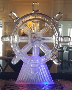 Personalized Ships Wheel