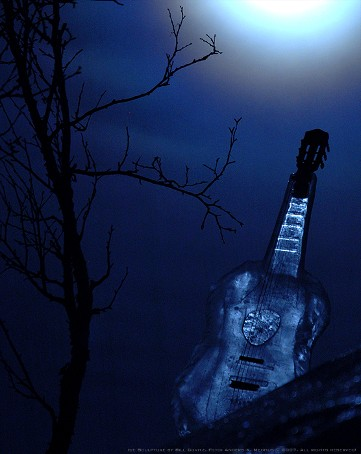 Ice Guitar by Bill Covitz