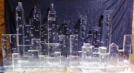 Carved NYC Skyline