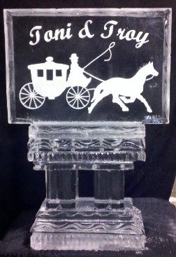 Snowfilled Horse and Carriage Logo
